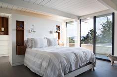 Hanging bedside lamps - modernize the sconce!