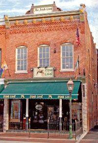 The Irish Lion Restaurant & Pub Bloomington, Indiana New Harmony, Bloomington Indiana, Unique Restaurants, Home Again, Indiana University, Irish Recipes, Places To Eat, The Neighbourhood, Yard