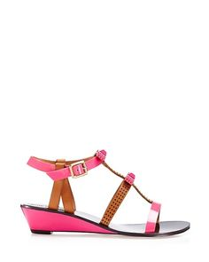 #engagementparty Juicy Couture Sura Bow Wedge. $69. Precious Pink Slip-Ones @Juicy Couture