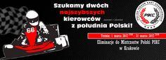 Szukamy dwóch najszybszych kierowców wKrakowie - Zawody iEliminacje