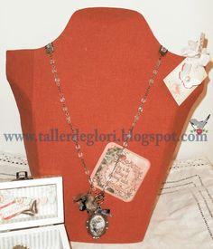 el taller de glori: Tutorial expositor para collares