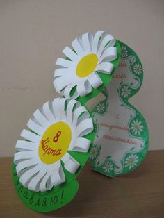 St Patricks Day Crafts For Kids, Kids Fall Crafts, Mothers Day Crafts, Diy And Crafts, Pop Up Flower Cards, 8 Mars, Circle Crafts, Paper Crafts Origami, Newspaper Crafts