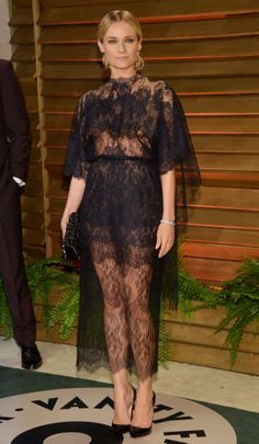 Oscars: Diane Kruger in Valentino Couture