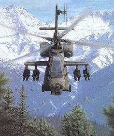 AH-64 Apache...best attack helicopter ever