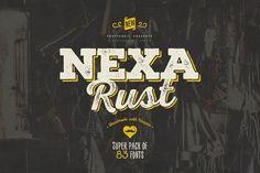 Nexa Rust by Fontfabric on @creativemarket