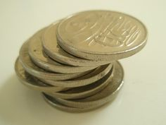coins for a money talisman spell