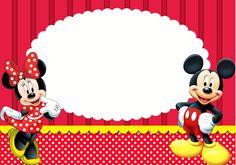 Kit para impressão Mickey e Minnie