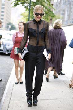 Street style:Dani Stahl (style editor-at-large of Nylon Magazine)