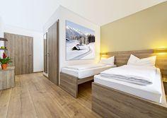 So wird man in Hermann Maiers adeo Alpin St. Johann in Tirol übernachten.
