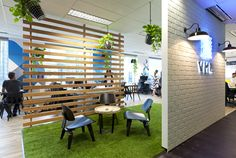 y&R sydney office - Nature Indoors - Biophilic Design - Commercial Office Space