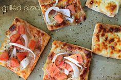 #GrilledPizza from Table for 7 #pillsbury