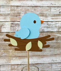 Bird Centerpieces, set of 4 Bird Crafts Preschool, Animal Crafts For Kids, Felt Crafts, Diy Crafts For Kids, Easter Crafts, Art For Kids, October Crafts, Rabbit Crafts, Butterfly Crafts