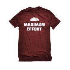 Maximum Effort Taco Mens Unisex T-shirt