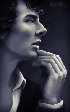 Sherlock by masterHalfling on DeviantArt