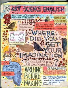 » Lynda Barry: No Artistic Talent Required To Be More Creative - The Creative Mind