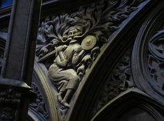 Green Man in Winchester Cathedral.