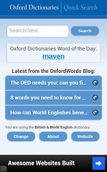 Oxford Dictionaries – Search Free World's most Trusted Dictionary