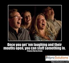 If you're able to make people laugh, you can sell them anything. #publicspeaking #quotes