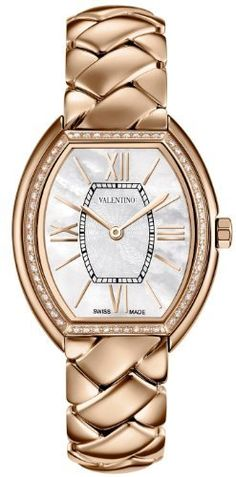 Valentino Liaison Rose Gold Plated Steel & Diamond Womens Dress Watch V48SBQ5191-S080 by Valentino, http://www.amazon.co.uk/dp/B00DL2CW0U/ref=cm_sw_r_pi_dp_w1wpsb0ZBQKVG