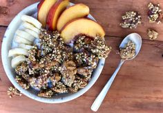 Banana Nut Buckwheat Granola - Raw, Vegan, Gluten & Sugar Free!