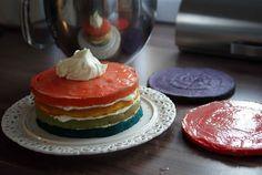 Rainbow-Cake (Regenbogen-Kuchen)