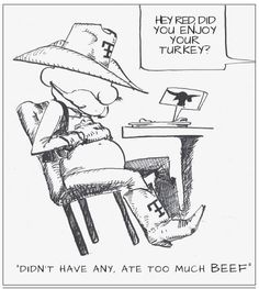 We got a good laugh out of the cartoon in The One Of Us, Texas Tech University, Texas Tech Red Raiders, Guns, Counseling, Trek, Cartoon, Humor, Black