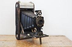 Antique Kodak Jr. Folding Camera No. 1 A by estatehound on Etsy
