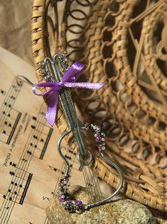 Сам себе Страдивари. Создание кулона-броши в виде скрипки - Ярмарка Мастеров - ручная работа, handmade