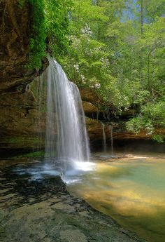 South Caney Creek Falls in Northern Alabama / Fine Art America by Les Griffith
