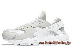 timeless design b0cb6 cc14e Nike WMNS Air Huarache Run Blanche 634835-108 Femme Enfant Nike Urh Pas Cher