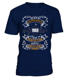 1969 September Aged to Perfection  #image #sciencist #sciencelovers #photo #shirt #gift #idea #science #fiction