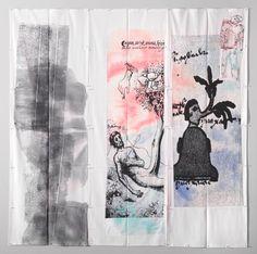 Eugenio Dittborn | Works | Alexander and Bonin