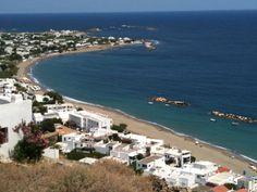 The beach of Magazia/Molos in the Island of Skyros