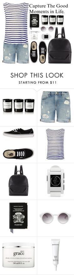 """""""Vans Low-Tops & Trainers"""" by crblackflag ❤ liked on Polyvore featuring Byredo, Frame Denim, Vans, T By Alexander Wang, Christian Lacroix, Pebble, Aspinal of London, Monki, philosophy and Elizabeth Arden"""