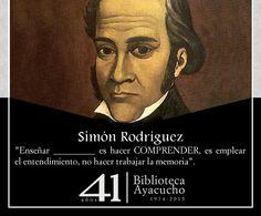 Simón Rodríguez, parte de nuestra #ColecciónClásica