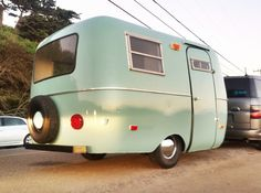 """""""Sage Coach"""" !  Vintage 1976 Scamp completely restored to its original beauty.  fiberglass RV"""