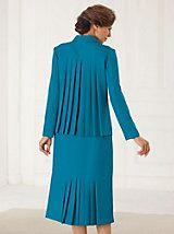 Easy-Care Pleated Back Skirt Suit | Old Pueblo Traders