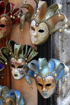 Máscaras de Carnaval, Venecia