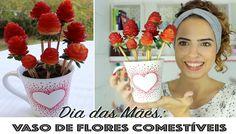 DIY: FLORES COMESTÍVEIS (Especial Dia das Mães) | Paula Stephânia