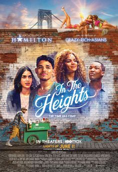 Washington Heights, Hamilton Musical, In The Heights Movie, Jimmy Smits, Corey Hawkins, Anthony Ramos, Internet Movies, Movies Online, West Side Story