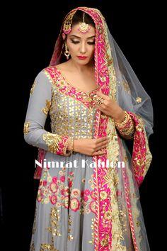 #nimratkahlon #nimrat #fashion #art #beauty Punjabi Dress, Pakistani Dresses, Indian Dresses, Punjabi Suits, Salwar Suits, Plazzo Suits, Indian Bridal Outfits, Indian Designer Outfits, Bridal Dresses
