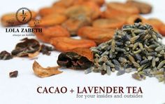 Cacao Tea for your insides and outsides #DIY