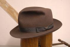vintage ww2 trilby hat