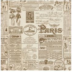Newspaper 2.  #paper #scrap