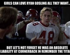"Remember The Titans Quotes Cool Hold On To That Ball Petey Hold On To That Ball""  Entertainment"