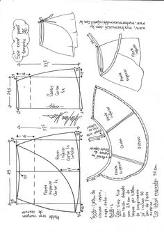 Saia envelope (pareô) - DIY - molde, corte e costura - Marlene Mukai Sewing Basics, Sewing Hacks, Sewing Tutorials, Sewing Projects, Techniques Couture, Sewing Techniques, Skirt Patterns Sewing, Clothing Patterns, Sewing Clothes