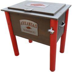 Arkansas Razorbacks Collegiate Cooler on BourbonandBoots.com #arkansas #razorbacks #wps