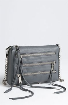 Rebecca Minkoff '4 Zip - Mini' Crossbody Bag | Nordstrom
