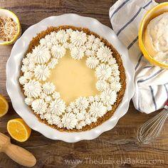 Dreamy Creamy Meyer Lemon Pie