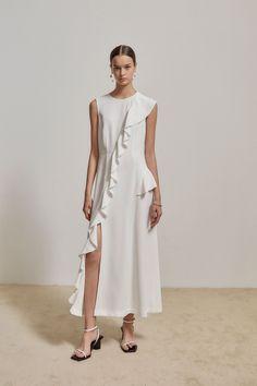 Cos Dresses, Simple Dresses, Cotton Dresses, Casual Dresses, Fashion Dresses, Girl Fashion, Summer Dresses, Womens Fashion, Fashion Design